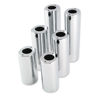 Biker's Choice Chrome Fork Tube Covers +4