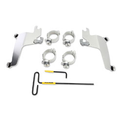 Memphis Shades Sportshield Polished Trigger-Lock Mounting Hardware