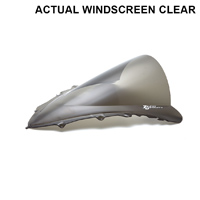 Zero Gravity Clear  Double Bubble Windscreen