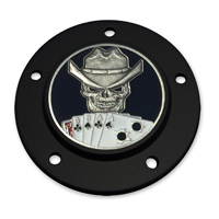 MotorDog69 Black 5-Hole Timing Cover Coin Mount with