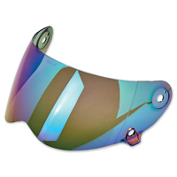Biltwell Inc. Lane Splitter Rainbow Mirror Face Shield