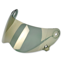 Biltwell Inc. Lane Splitter Gold Mirror Face Shield