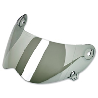 Biltwell Inc. Lane Splitter Chrome Mirror Face Shield