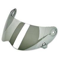 Biltwell Inc. Lane Splitter Chrome Mirror Face Shield