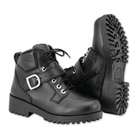 Black Brand Women's Marcia Black Leather Boots
