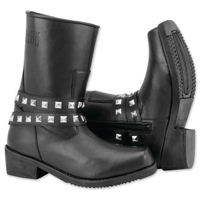 Black Brand Women's Mia Black Leather Boots