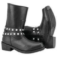 Black Brand Women's Mia Black Leather Boots