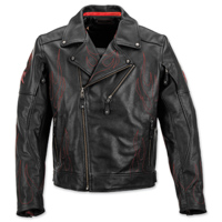 Black Brand Men's Spontaneous Human Combustion Leather Jacket