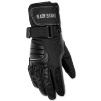 Black Brand Women's Wintress Black Textile/Leather Gloves