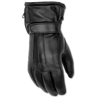 Black Brand Women's Faithful Black Leather Gloves