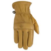 Black Brand Men's Rally Tan Leather Gloves