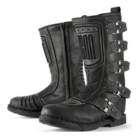 ICON One Thousand Men's Elsinore Johhny Black Boots