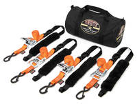 PowerTye Fat Strap Ratchet Tie-down Kit