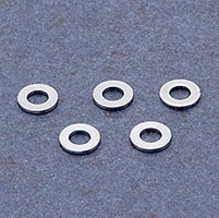 J&P Cycles® Chrome Flat 3/8″ AN Washers