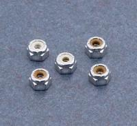 Chrome Nylon-Inserted Lock Nuts