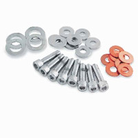 J&P Cycles® Chrome Rocker Box Allen Screw Kit