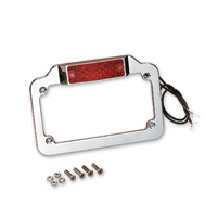 J&P Cycles® LED License Plate Frame