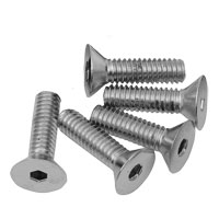 Chrome Countersunk Sockethead Screws
