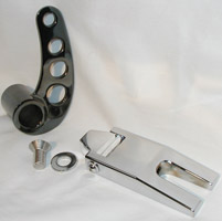 Black Hills Billet Folding Side Mount License Plate Bracket