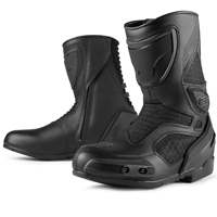 ICON Men's Overlord Stealth Black Boots