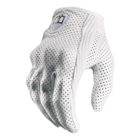 ICON Women's Pursuit Perforated White Gloves