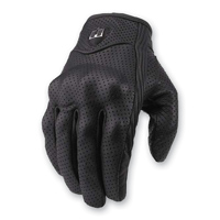 ICON Men's Pursuit Touchscreen Stealth Black Gloves