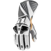ICON Men's Hypersport Pro Long White Gloves