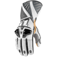 ICON Men's Hypersport Pro Long White Gloves