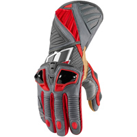 ICON Men's Hypersport Pro Long Red Gloves