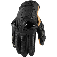 ICON Men's Hypersport Pro Short Stealth Black Gloves