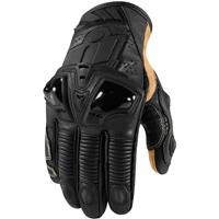 ICON Men's Hypersport Pro Short Stealth Black Gloves