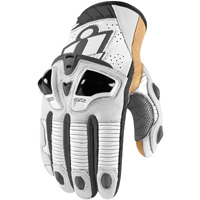 ICON Men's Hypersport Pro Short White Gloves