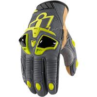 ICON Men's Hypersport Pro Short Hi-Viz Gloves