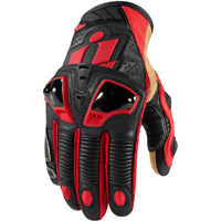 ICON Men's Hypersport Pro Short Red Gloves