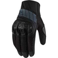 ICON Men's Overlord Mesh Stealth Black Gloves