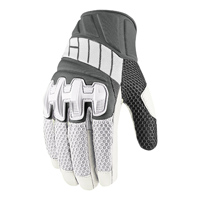 ICON Men's Overlord Mesh White Gloves