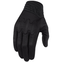 ICON Men's Anthem Stealth Black Gloves