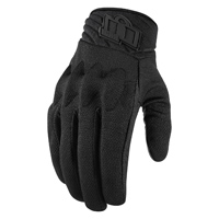 ICON Men's Anthem 2 Stealth Black Gloves