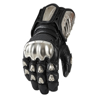 ICON Men's TiMAX Long Black Gloves