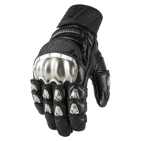 ICON Men's TiMAX Short Black Gloves