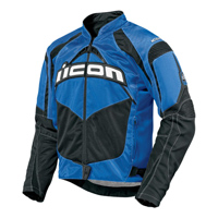 ICON Men's Contra Blue Textile Jacket