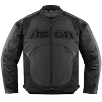 ICON Men's Sanctuary Stealth Black Jacket