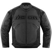 ICON Men's Sanctuary Stealth Black Jacket