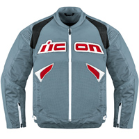 ICON Men's Sanctuary Grey Jacket