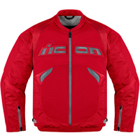 ICON Men's Sanctuary Red Jacket