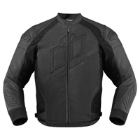 ICON Men's Hypersport Prime Stealth Black Jacket