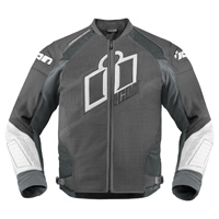 ICON Men's Hypersport Prime Gray Jacket