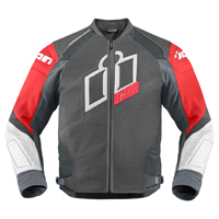 ICON Men's Hypersport Prime Red Jacket