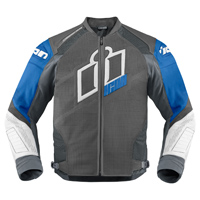ICON Men's Hypersport Prime Blue Jacket