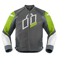 ICON Men's Hypersport Prime Green Jacket